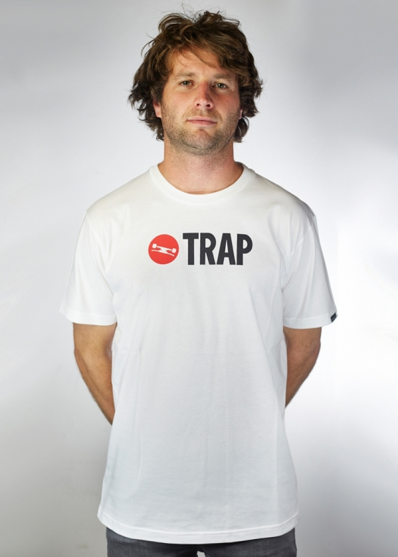 TRAP Tee Men Logo 2013 - white