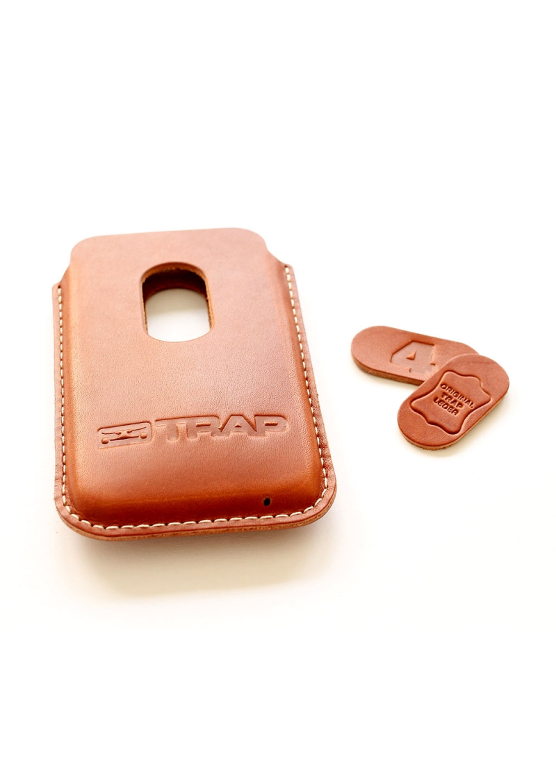 TRAP - iPhone Lethercase 4G brown