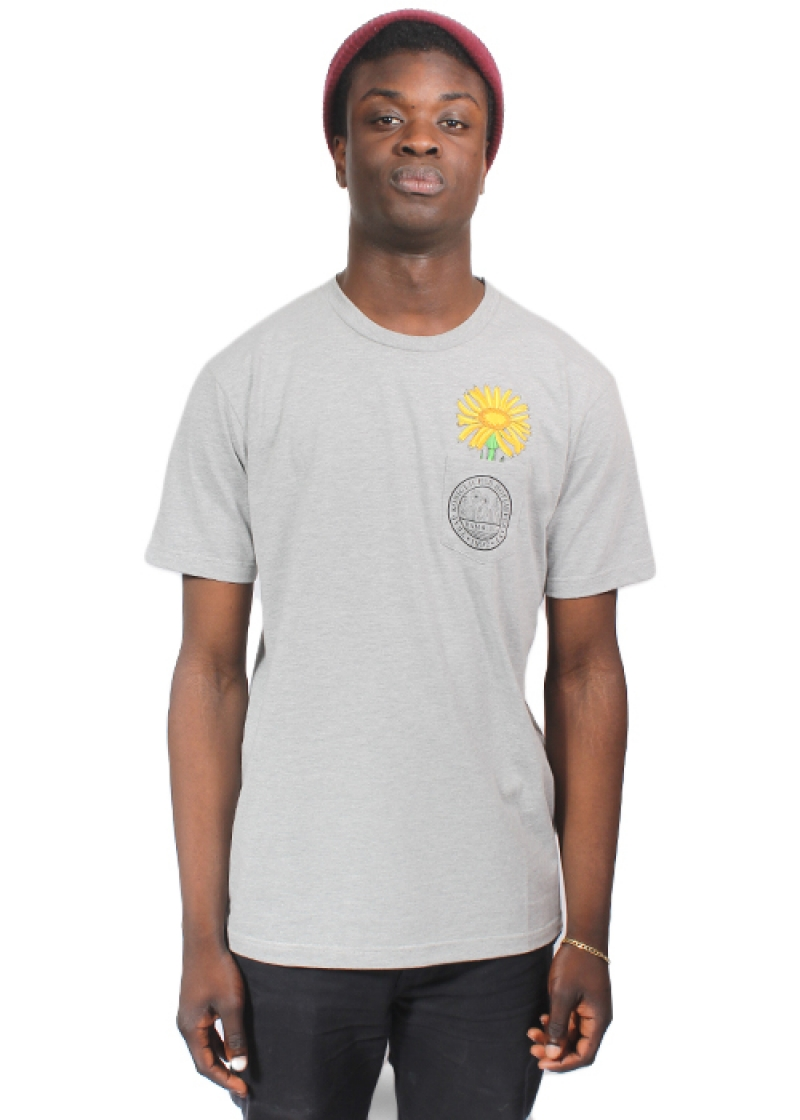 TRAP Tee Sunflower Reif grey