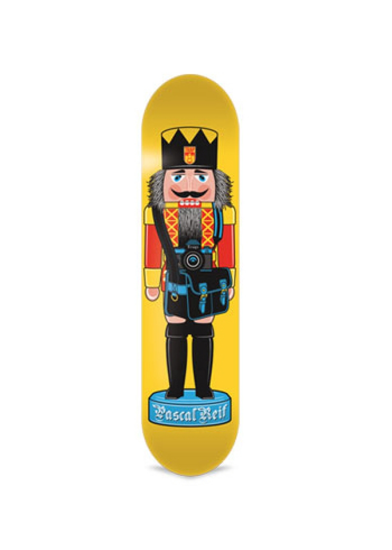 TRAP Deck Pascal Reif Nutcracker Yellow