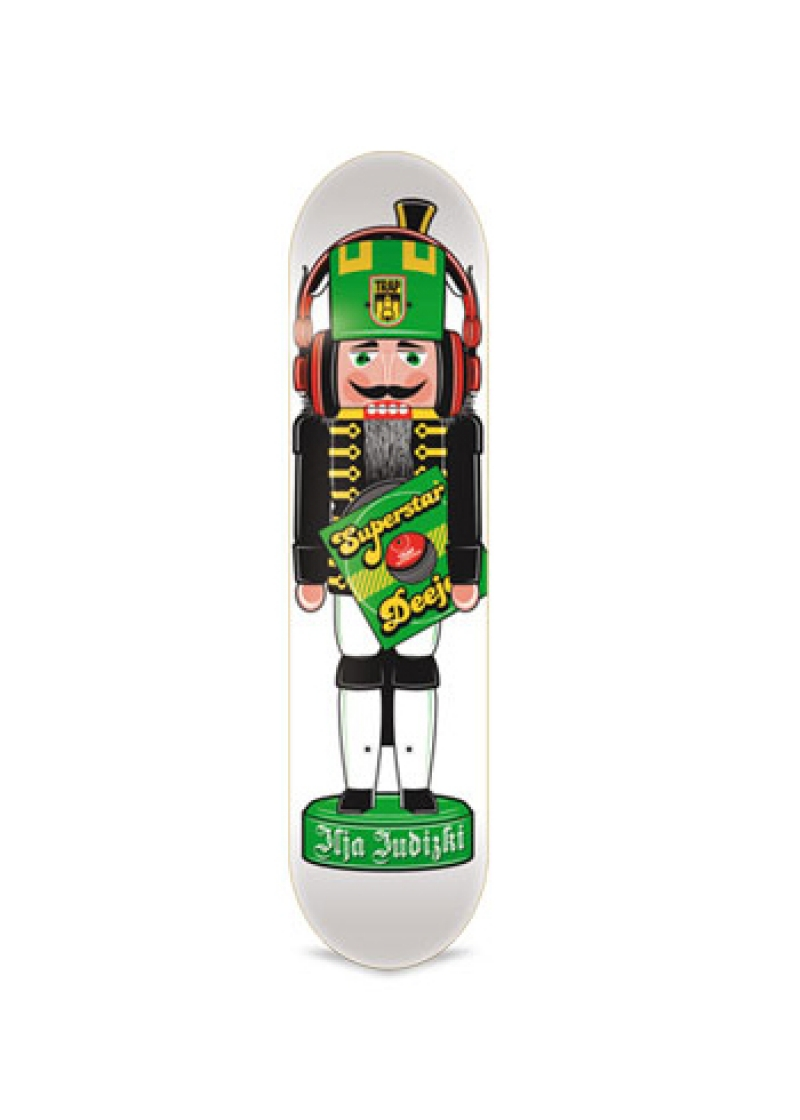 TRAP Deck Ilja Juditzki Nutcracker White